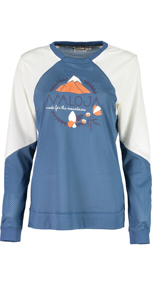 Maloja UrsinaM. Long Sleeve Freeride Jersey Women blueberry